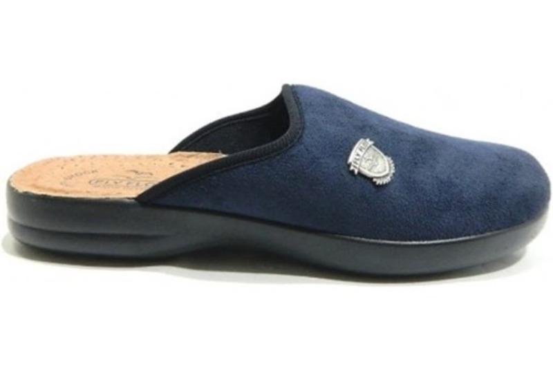fly-flot-pantofola-uomo-stemma-col-blu